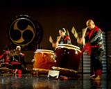 Unit Souzou will share the loud and proud tradition of taiko at Caldera Open Studios. - Uploaded by Pfeenie