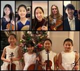 Calder Quartet Master Class performers - Uploaded by HighDesertChamberMusic