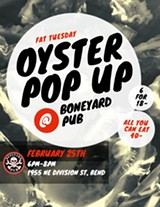 Chef Ben throwing a Fat Tuesday Oyster Pop Up - Uploaded by Ben Phillips