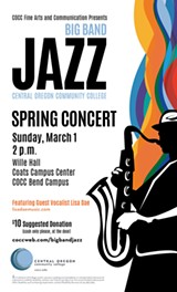 COCC Big Band Jazz Concert - Uploaded by slowenmusic