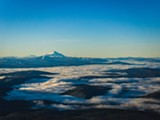 Mt. Jefferson during an inversion - Uploaded by Patagonia Bend