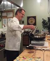 Chef Julian Darwin @Elixirwineco. - Uploaded by Elixir Wine Group