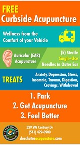 Curbside Acupuncture - Uploaded by deschutesacupuncture