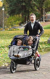 Mom running! - Uploaded by Michelle@FootZone