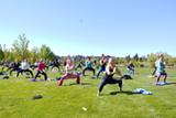 Outdoor Vinyasa + Vino Women's Event - Uploaded by Free Spirit Yoga + Fitness + Play