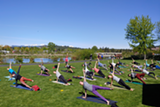 Outdoor Yoga Flow - Uploaded by Free Spirit Yoga + Fitness + Play