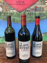 locally made wines from locally grown grapes - Uploaded by Lava Terrace Cellars