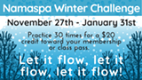 Namaspa Winter Challenge - Uploaded by Namaspa Yoga Community