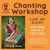 Chanting Workshop with Jenni Peskin - Uploaded by Namaspa Yoga Community