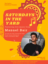 Bunk+Brew Presents: Saturdays in The Yard with Manuel Bair - Live Music! - Uploaded by BunkandBrew
