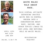 White Males Talk About Race Flyer - Uploaded by TRACEs2.0
