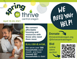 Visit our website or use the QR code to check out our silent auction! - Uploaded by Britta Schroeter Phillips