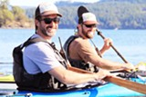 Tumalo Creek San Juan Island's Tour guides Hank and Topher share the finer points of sea kayaking! - Uploaded by solalchemytemple