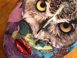 Owl Mask - Uploaded by Aziza