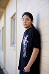 <b>AGAINST THE WALL</b> In Sonoma County, job opportunities are few for young adults like Bella Ortega.