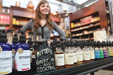 ALCOHOLIC ALCHEMY Cocktails come alive with a well-chosen dash of bitters. - NICOLAS GRIZZLE