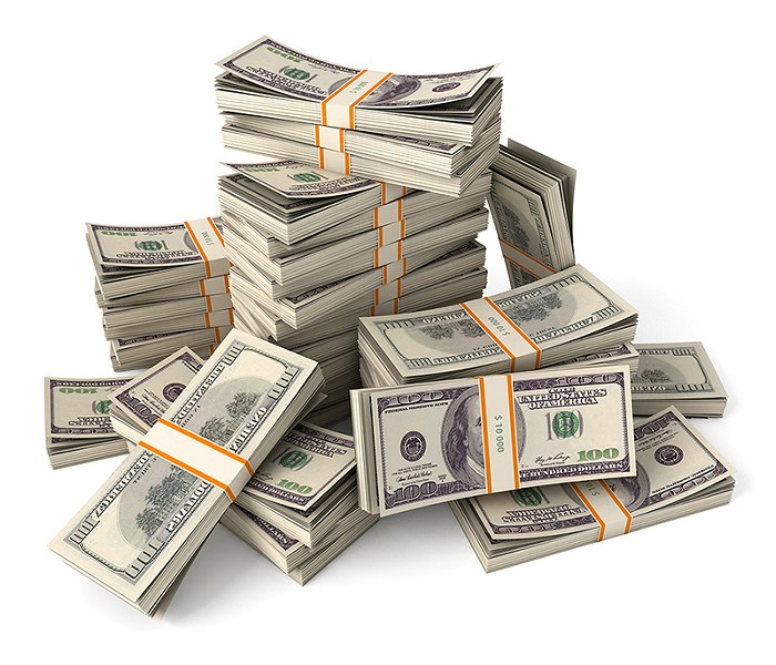 ALL ABOUT THE BENJAMINS From 2000 to 2008, more than $300 million worth of assets were seized in California.