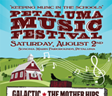 Aug. 2: Petaluma Music Festival