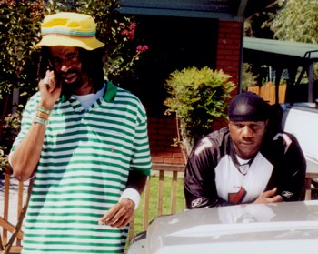 BACK IN THE HOOD Mac Dre often hung out in his aunt's Santa Rosa neighborhood. - JOHNETTA DEDRICK