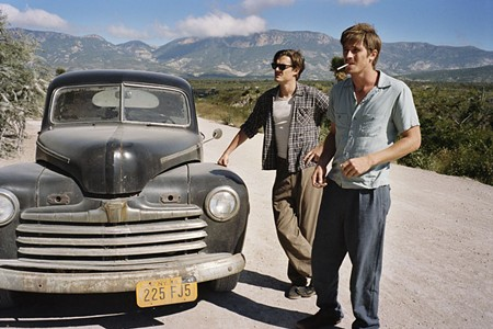 BADDER THAN BAD Sam Riley as Sal Paradise and Garrett Hedlund as Dean Moriarty in the new film version of 'On the Road.'