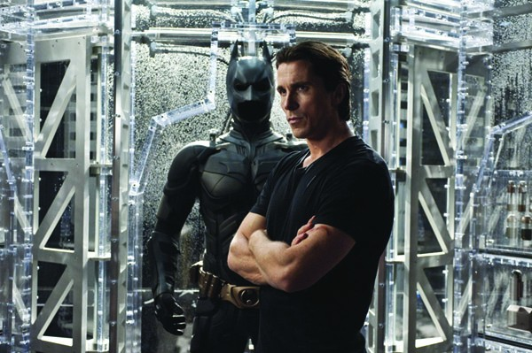BALEFUL 'The Dark Knight Rises' guarantees sold-out midnight showings with . . . sorry, man, Christian Bale is looking so good here I can't even finish writing this caption.