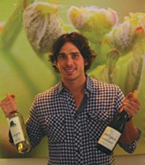 Ben Flajnik at Envolve Winery - JAMES KNIGHT