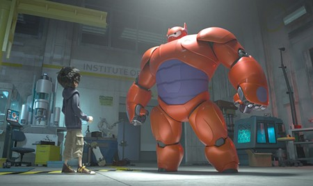 BIG BOT Baymax, a self-inflating robot, is the hero in 'Big Hero 6.'