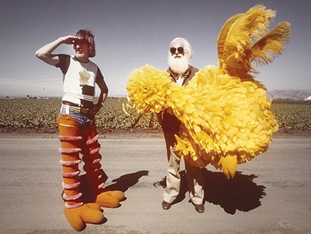 BIG SHOES For 40 years, Caroll Spinney has played the big beloved bird.