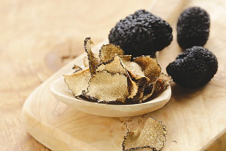BLACK GOLD A rainy summer in Europe has made this a good winter for black truffles.