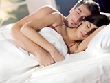 BURNING LOVE: Hitting the sheets once a day with your partner means losing about a half-pound every week, plus an oxytocin overload that aids in sleep.