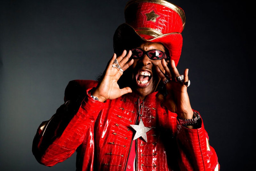 CALLIN' OUT Bootsy Collins summons the spirit at the Uptown Theatre on Dec. 21