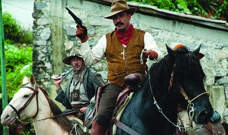 CAST AWAY Cuban-born Andy Garcia plays, uh, a Mexican general.