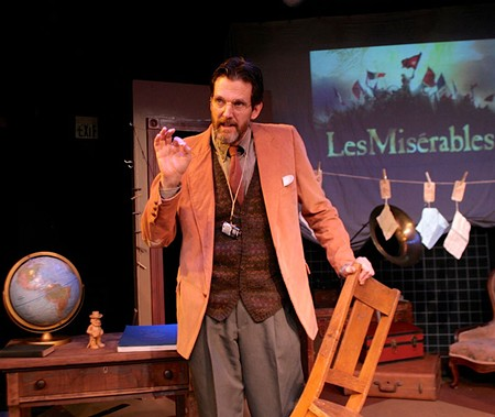 CHECKED OUT John Shillington is captivating in Main Stage West's new production.