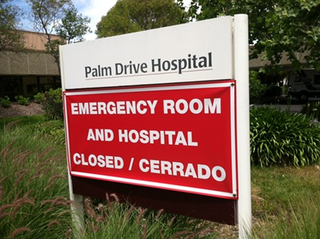 CLOSED PALM Big challenges confront a doctor-led plan to reopen Palm Drive Hospital. - STETT HOLBROOK