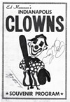 Clowns souvenir program from the 1960s