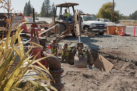 CONE ZONE While the new state budget is well-received in Sonoma County, road-improvement funds are still needed.