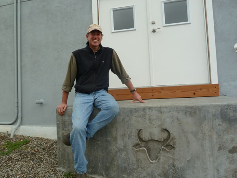 Craig Ramini plans to start making fresh buffalo milk mozzarella this summer. - STETT HOLBROOK