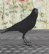 DEBORAH SULLIVAN - Crow and Rose Leaf Pattern