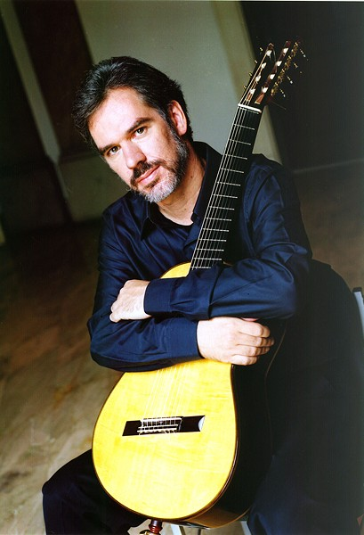 CUSTOM SOUNDS Paul Galbraith brings his unique guitar to the Occidental Center for the Arts on Oct. 13.