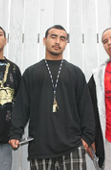 DAYS PROMISED El Poeta, D-Boy and Smokey find a way out through their music.