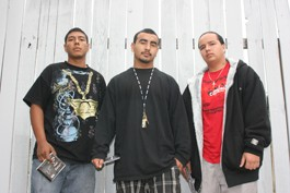DAYS PROMISED El Poeta, D-Boy and Smokey find a way out through their music. - GABE MELINE