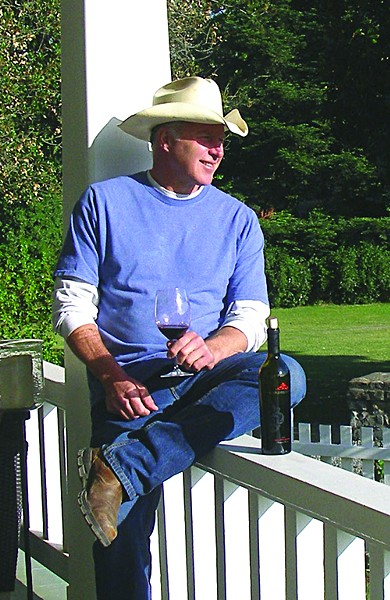 Dean Bordigioni at Annadel Estate Winery. - JAMES KNIGHT