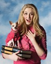 <b>DELTA NU NU NU</b> Sigrid Forsythe as Elle in 'Legally Blonde' at the SRJC.