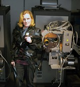 END CREDITS: Film projectionists like the Roxy Theater's Bonnie Zaft are finding their expertise replaced by hard drives.
