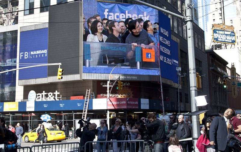 FACEBOOK IS PEOPLE Have you noticed more ads along your news feed? Blame Facebook's IPO.