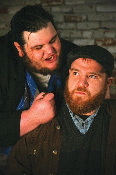 FAMILY FEUD  Brothers Nick and Jon Christenson don't play nice in 6th Street's 'Lonesome West.