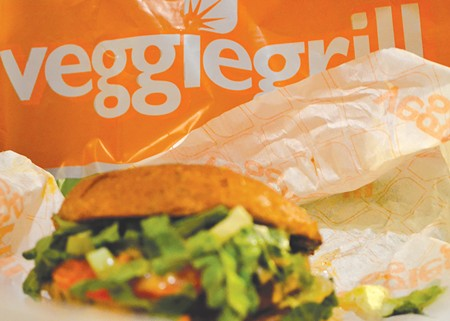 FAST FOOD, HOLD THE BEEF But you can get 'chickin' at Veggie Grill. Can 'porque' and 'lamm' be far behind?