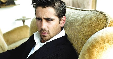 FESTIVAL HUNK Colin Farrell is scheduled for several events in Napa.