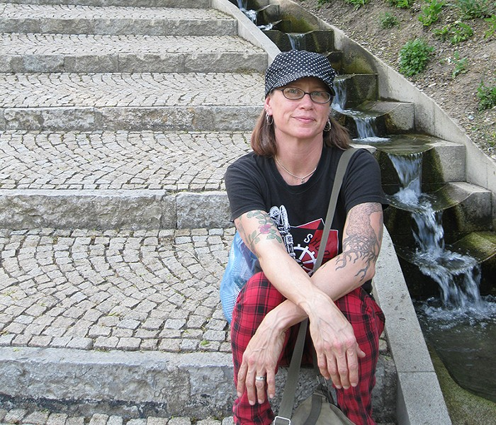 FIND MY PLACE Jessica Mills pioneered Maximum RocknRoll's first punk parenting column.