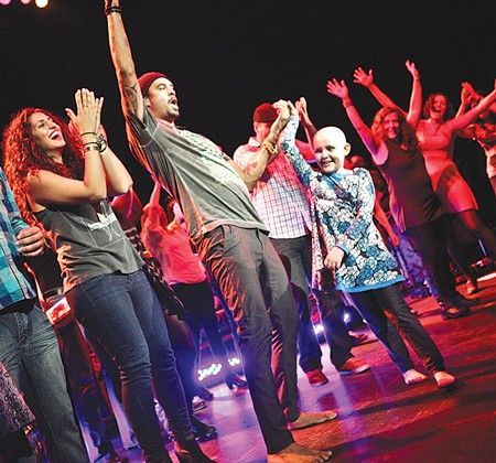 FOR THE LOVE Michael Franti's nonprofit brings people with serious illnesses to concerts of their choice.